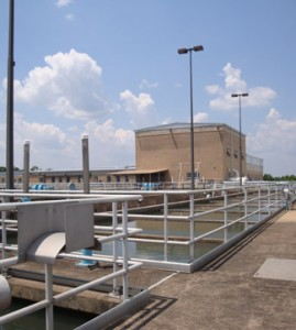 Ed Love Treatment Plant, On Top of the Tank