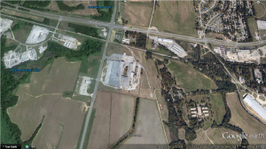 Hanna Steel Corporation's Northport Location Credit: Google Earth, May 2014