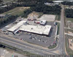 This is an image from Google Earth. It was taken  this past year of PECO Food Inc.'s processing plant in Tuscaloosa, Alabama.